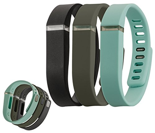 yayago 3er Set Ersatzarmband für Fitbit Flex Wechsel Band Ersatz Armband Fitness Sport