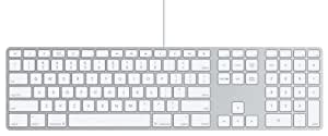 Apple German Keyboard with Numeric Keypad
