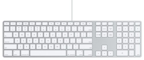 Apple MB110D/B Keyboard (deutsches Tastaturlayout, QWERTZ)