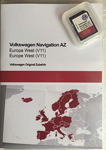SD-Karte Update VW Navigation AZ Europa West V11 RNS 315 (Sd-karte-navigations-system)