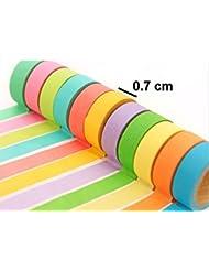 Masking tape adhésif de cache pour nail art