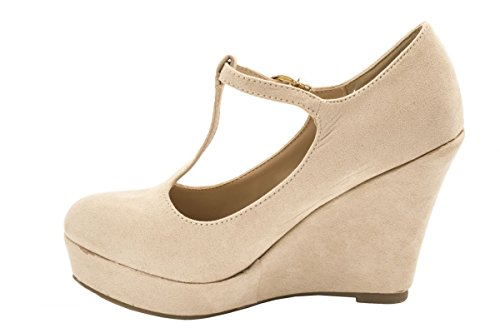 Elara - Chiusura a T Donna Beige (beige)
