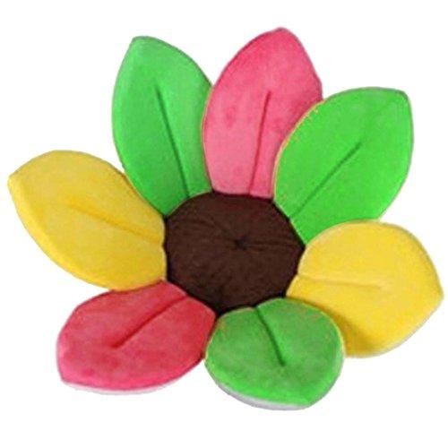 Blumen-rocker Kissen (Baby Bad Produkt Baby Bad Kissen Pads Blume Bad Pads für Baby Wanne Bad & Körper für Baby Säugling Lotus Bad Bett Kissen (Heißes Rosa))