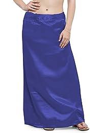 Ziya Premium Satin Petticoat With Attached Pure Cotton Inner
