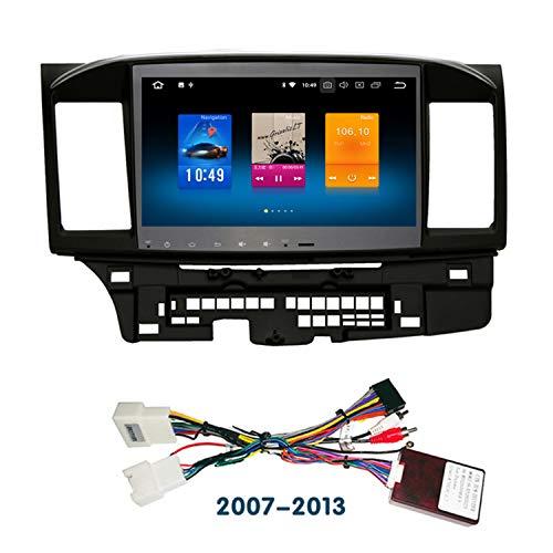 ndroid 8.0 Octa Core Autoradio KFZ GPS-Player für Mitsubishi Lancer 10 EVO Galant Fortis ispira X mit Navigation Stereo-Radio Bluetooth Spiegel Link Full Touch Bildschirm ()