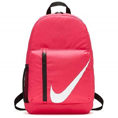 Nike Y Nk Elmntl Bkpk, Zaino Unisex-Bambini, Rosa (Rush Pink/Black/Whit), 15x24x45 Centimeters (W x H x L)