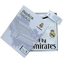 Personalizador Kit Infantil Real Madrid Réplica Oficial Licenciado de la Primera Equipación Temporada 2018-19