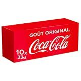Coca-Cola Goût Original 10x33cl canettes