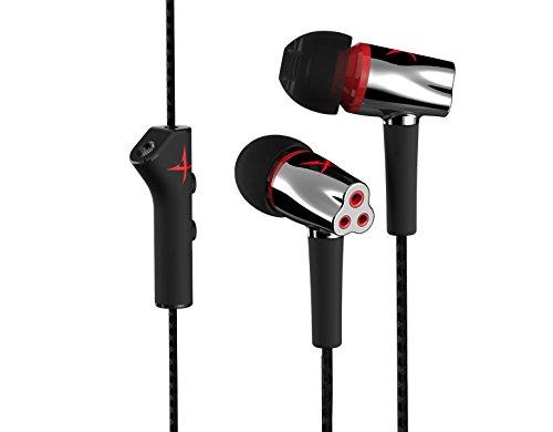 CREATIVE Sound BlasterX P5 Cuffie da Gioco in-Ear con Microfono, Nero