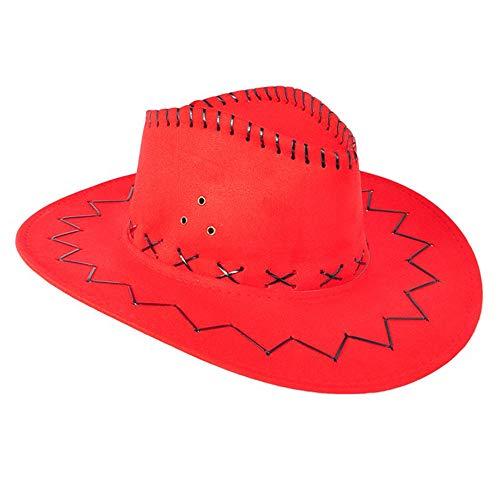 Baby Cowgirl Hut - Goodplan Western Cowboyhut Kunstleder Cowboyhut Western