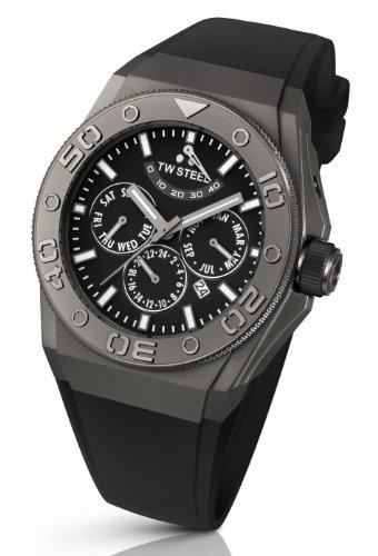 TW Steel Unisex-Armbanduhr CEO TEC Automatik Analog Kautschuk TWCE5000