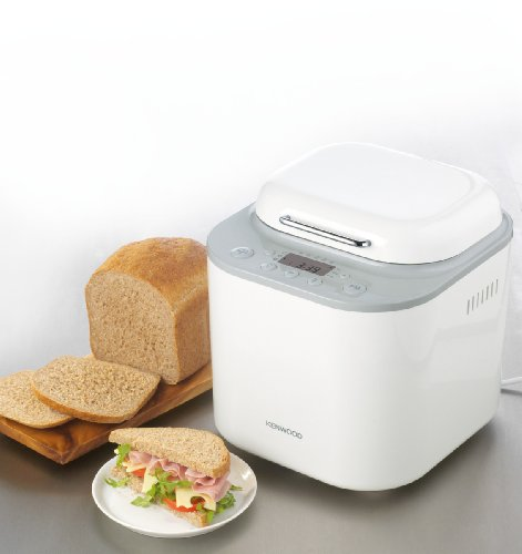 Kenwood BM260 maquina para hacer pan, blanca