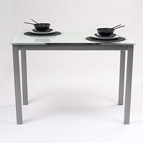 Homely Mesa Cocina Extensible Paris Estructura Metal