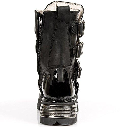 New Rock M 727 S1, Unisex-Erwachsene Stiefel Schwarz (Noir)
