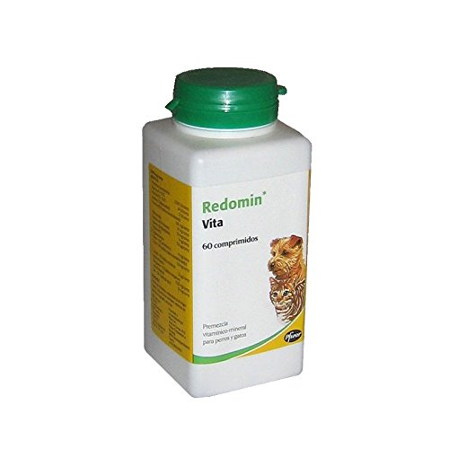 Zoetis Redomin Vita Envase con 60 Comprimidos de Suplemento Vitamínico para Perros...