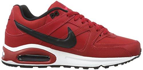Nike Air Max Command Leather, Scarpe da Corsa Uomo Rosso (Gym Red / Black-White)
