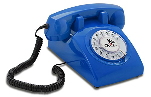 OPIS 60s CABLE: Teléfono estilo retro / diseño vintage de los años
