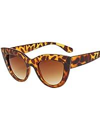 ❤️LILICAT Femmes Vintage Cat Eye Lunettes de Soleil Retro Eyewear Mode  Dames Cat Yeux Dames bd93d7e391ed