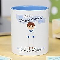 La Mente es Maravillosa | Taza cerámica de café o desayuno | Regalo original de COMUNIÓN