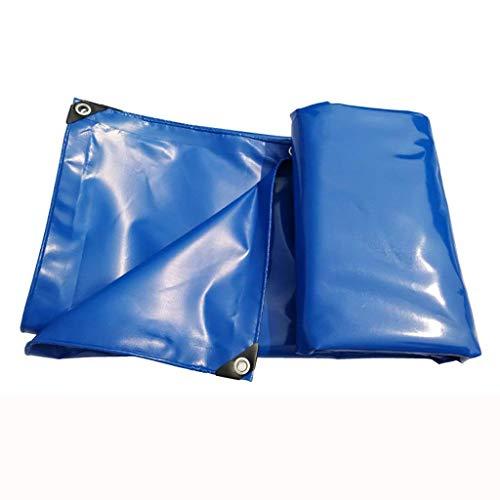 ATR Außenzelt Plane hochfesten dicken PVC regendicht Auto Plane Fracht Gartenplane Isolierung verschleißfesten, sea Blue (Farbe: A, Größe: 3 * 8M) Blue Sea Meter
