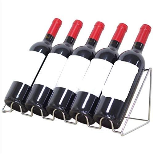 GNTLG Wein Regal Wein Vitrine Weinschrank Bar Weinflasche Ornamente Eisen Kreatives Wohnzimmer Zu...