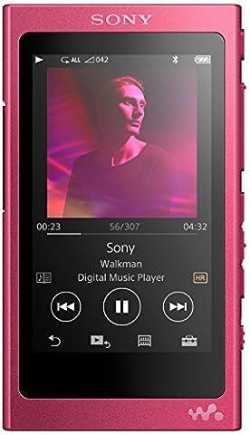 Sony NW-A35 Lecteur audio haute résolution 16 Go Rose