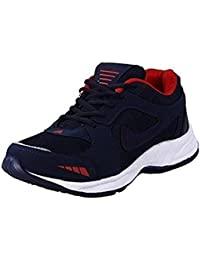 Deals4you Premium Quality Black/Blue Sports Running Shoes for Mens and Boys