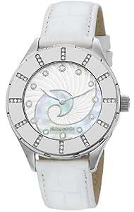 Pierre Cardin Damen-Armbanduhr L'horizon Analog Quarz Leder