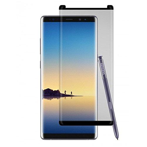 Gadget Guard Black Ice Gesims gehärtetem Glas Displayschutzfolie für Samsung Galaxy Note 8-Retail Verpackung, transparent -
