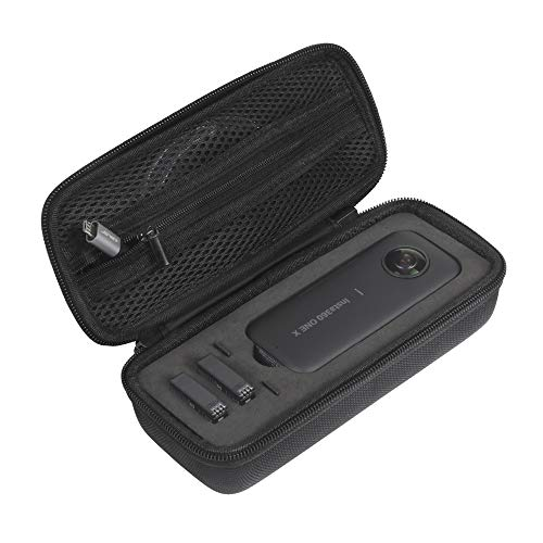 JSVER Tasche für Insta360 ONE X Handtasche Eva Schützend Carrying case Wasserdicht für Insta360 ONE X Kamera, Battery und Zubehör Eva Carrying Case