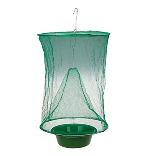Noradtjcca Hängende Tasche Fliegenfalle Käfig Zapper Net Trap Fly Catcher Killer Mit Köder Becken Fliegen Garten Outdoor Ungiftig Supplies -