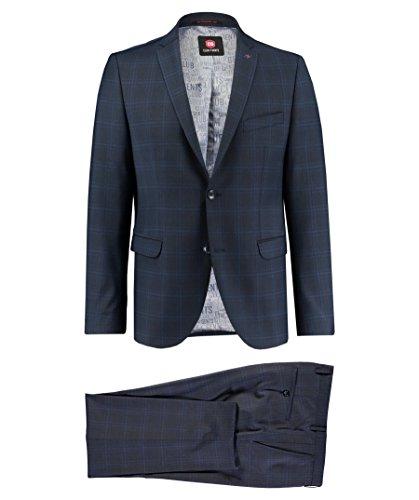 CG Club of Gents Herren Anzug blau (296) 94 (Mit Zwei-knopf-anzug Einreiher)