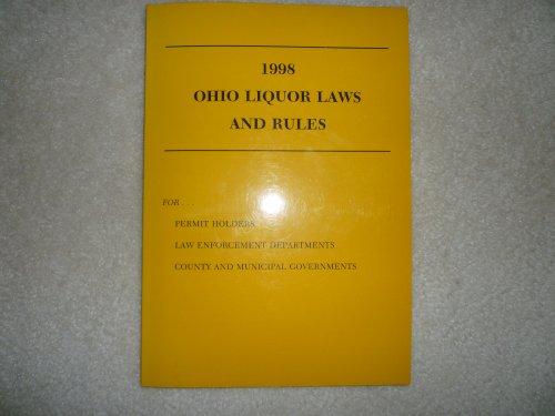 Ohio Liguor Laws and Rules por Anderson Publishing Co.