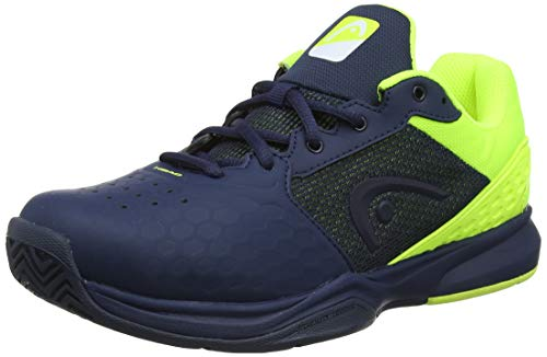 Head Revolt Team 2.5 Men, Scarpe da Tennis Uomo, Blu (Dark Blue/Neon Yellow Dbny), 43 EU