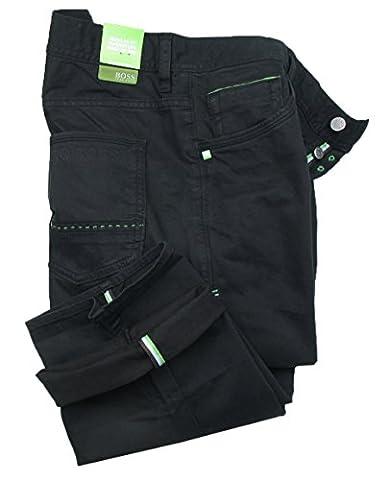 BOSS gREEN 5 pocket pantalon dENOX (noir)