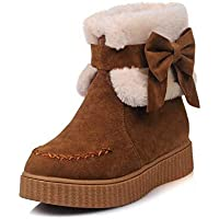 ZJ Women'S Shoes - Europe And The United States Martin Boots/Retro British Wind/Autumn And Winter Round Head Boots Women'S Boots/Large Size Women'S Shoes 36-43