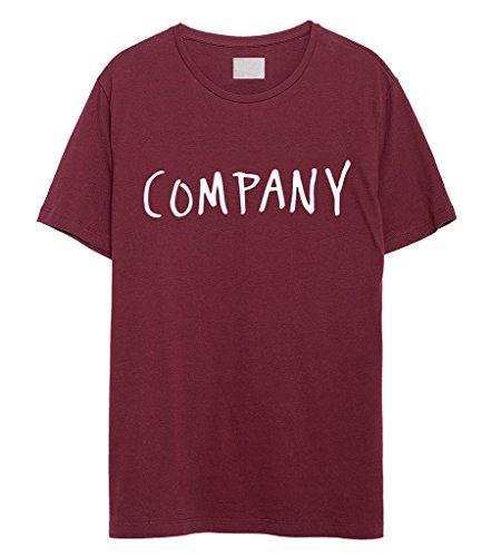 Fellow Friends-Justin Bieber Company Unisex Maglietta rosso Medium