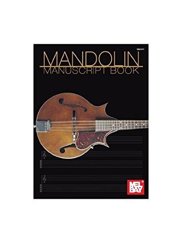 Mandolin Manuscript Book. Für Mandoline