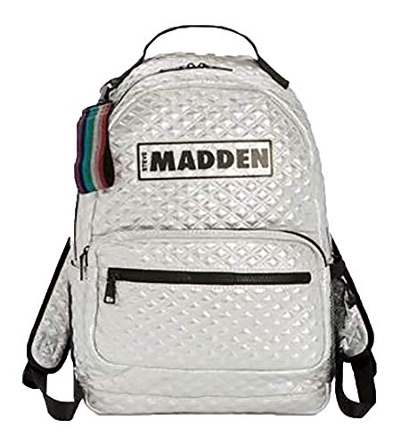 Steve Madden Austin Quilted Laptop Backpack Womens