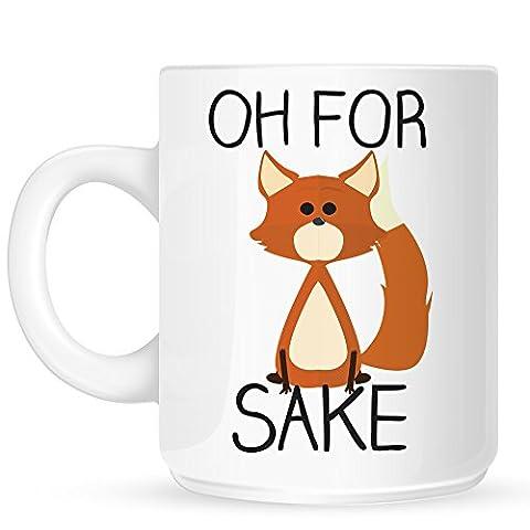White Oh For Fox Sake Mug
