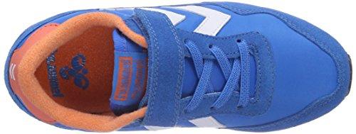 Blau hummel Kinder REFLEX LO Unisex Blue JR Sneakers Brilliant 7359 OpYTOIwrqd