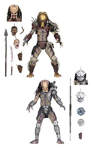 Neca- Ultimate Bad Blood & Enforcer Pack 2 20cm Scale Action Figure Predator, Color (NEC0NC51570) -