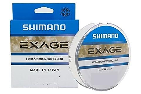 Shimano Exage 1000m 0,255mm 5,50kg Fil de pêche monofilament Ficelle Mono Ficelle monofil Mono Line