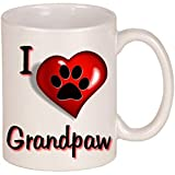 Tazza In Ceramica I Love Grandpaw