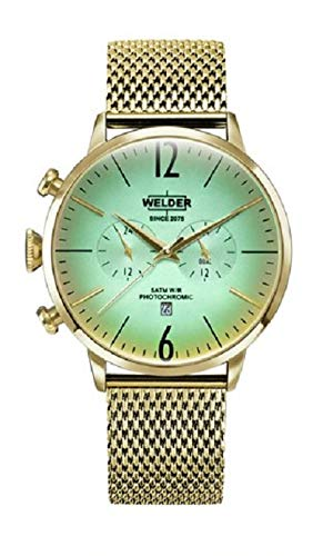 Orologio unisex Welder The Moody 45 mm Dual Time WWRC402 nuovo 2019