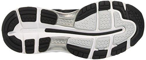 Asics Gel-Nimbus 19, Chaussures Multisport Outdoor Femme Noir (Black/onyx/silver)