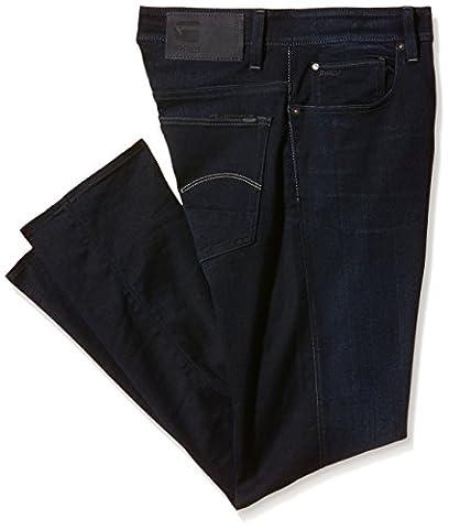 G-Star Herren 3301 Jeans, Blau (Dark Aged), 36/38