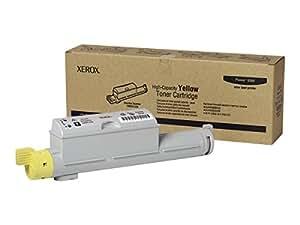Xerox Laser Toner Cartridge High Capacity Page Life 12000pp Yellow Ref 106R01220