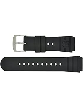 Luminox PU-Armband für Luminox 3000er Serie schwarz, PU, 21mm Anschlag