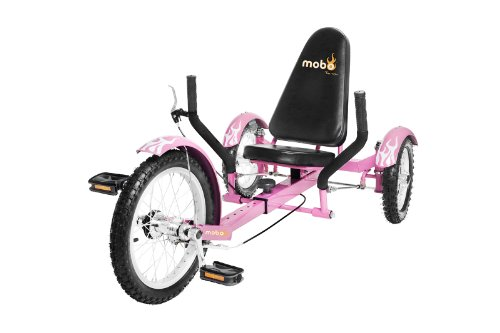 "MOBO Cruiser ""Triton"" Liegefahrrad Dreirad - Pink"